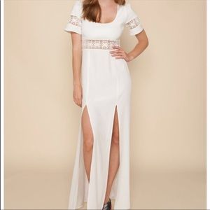 Stone Cold Fox White Gown 0